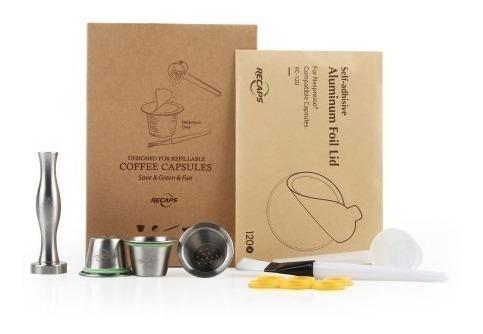 capsulas reutilizables para nespresso