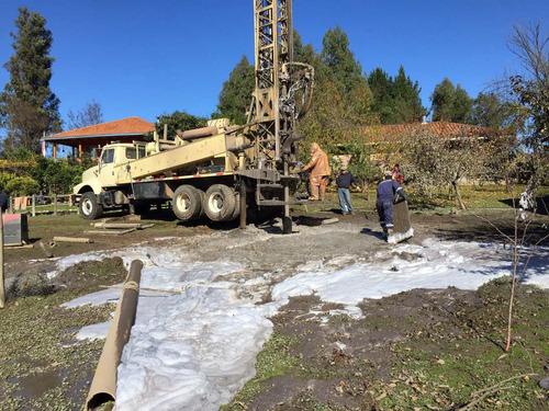captación agua subterránea, pozos profundos e instalaciones