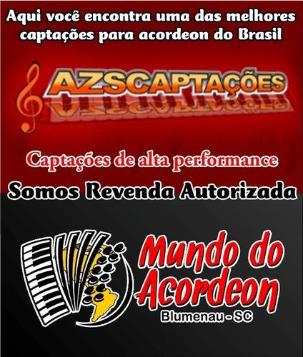 captação acordeon zs108 - microfonação eletrificação sanfona