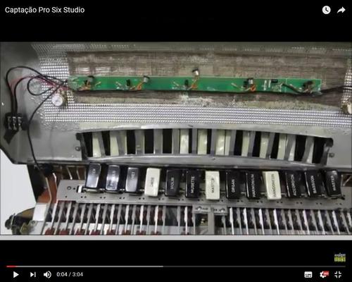 captação profissional para acordeon sanfona pro six studio