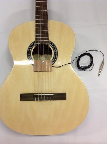 captador / cristal de violão, viola, cavaco kit c/ 02 unids