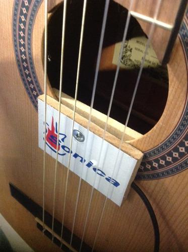 captador sonica / cristal de violão, viola, cavaco