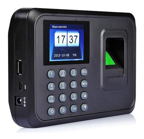 captahuellas a5  biométrico control  de asistencia acceso