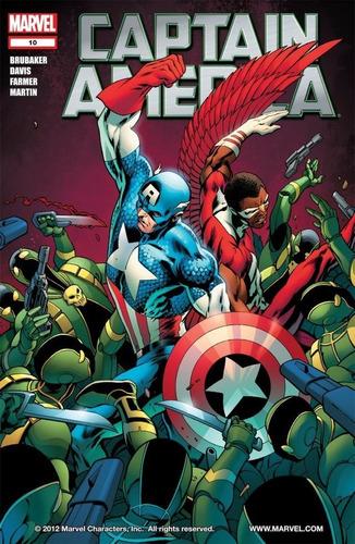 captain america #1-10 - 2 arcos completos (2011) marvel