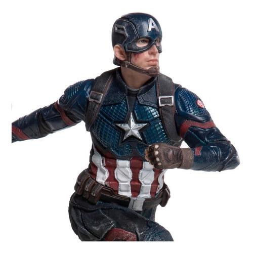 captain america - 1/10 bds- avengers: endgame - iron studios