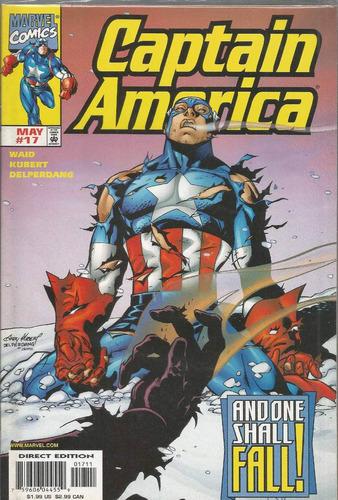 captain america 17 - marvel - bonellihq cx129 a18