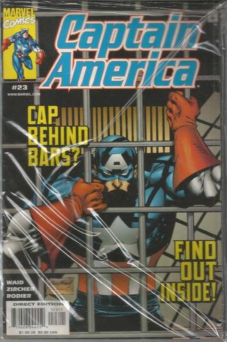 captain america 23 - marvel - bonellihq cx129 a18