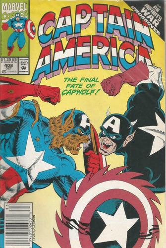 captain america 408 - marvel - bonellihq cx133 a18