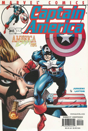 captain america 45 - marvel - bonellihq cx133 a18