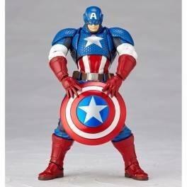 captain america [amazing yamaguchi 007] open box