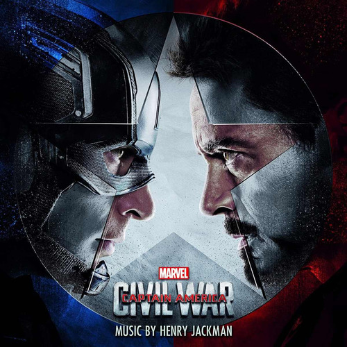 captain america civil war / soundtrack / disco cd
