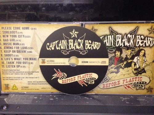 captain black beard before plastic amolad rocks kiss alive