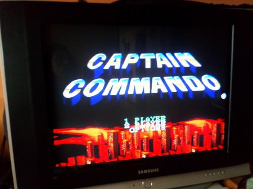 captain commando repro snes