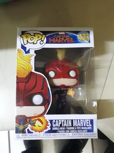 captain marvel #433 glow in the dark funko pop