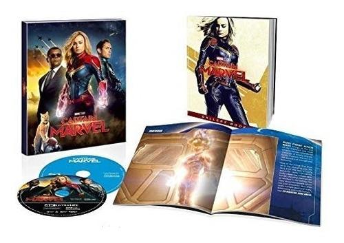captain marvel 4k + blu-ray + digital hd target exclusive