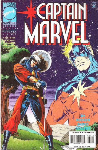 captain marvel vol 1 nº 2  ( inglés )