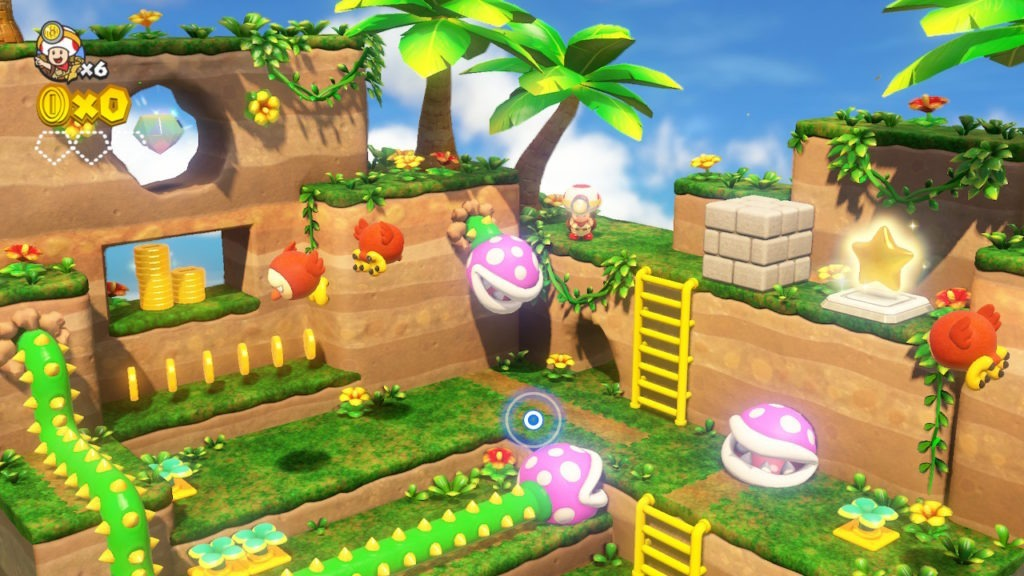 Captain Toad Treasure Tracker Nintendo Switch Nuevo Sellado ...