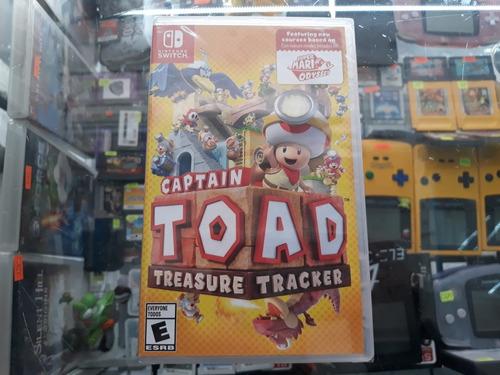 captain toad treasure tracker para nintendo switch