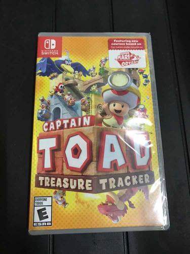 captain toad treasure tracker super mario odysey switch