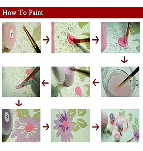 captaincrafts lienzo para niños y adultos para pintar segun