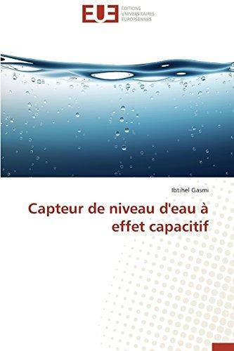 capteur de niveau d'eau à effet capacitif; gasmi ibtihel