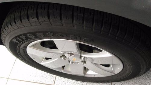 captiva 2.4 bancos caramelo pneus novos 2010