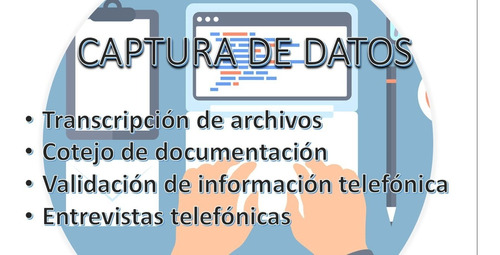 captura de datos