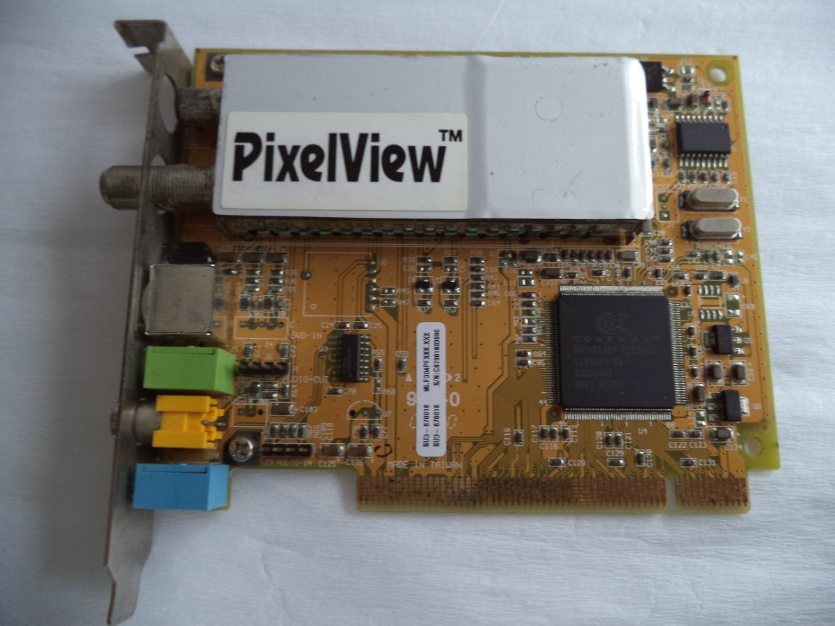 driver da placa de captura pixelview