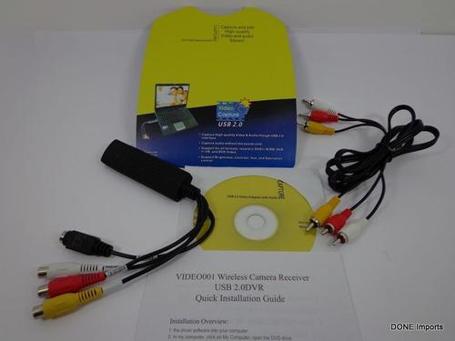 capturador fita vhs para dvd captura digital + video aula