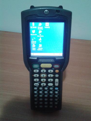 capturador scanner lector codigo barra motorola mc3090 wifi