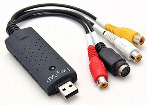 capturador video audio usb rca easycap pc laptop ps2 ps3 dvd