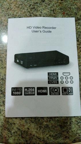 capturadora de vídeo 1080p
