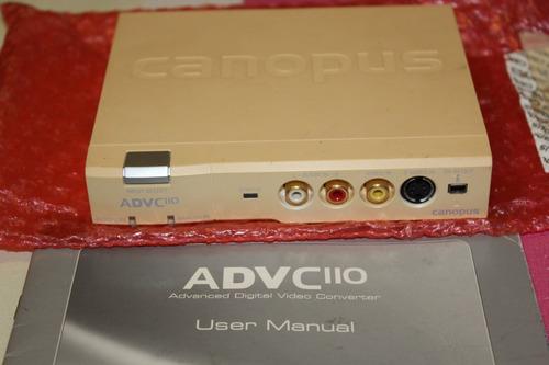capturadora de video canopus advc110