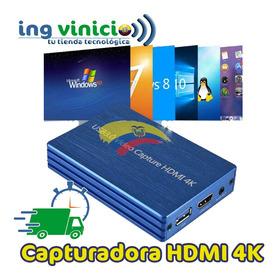 Capturadora De Video Hd Obs Hdmi 1080p Usb 3.0 Streaming