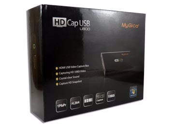 capturadora de video mygica hd cap u800 - hdmi - 1080i