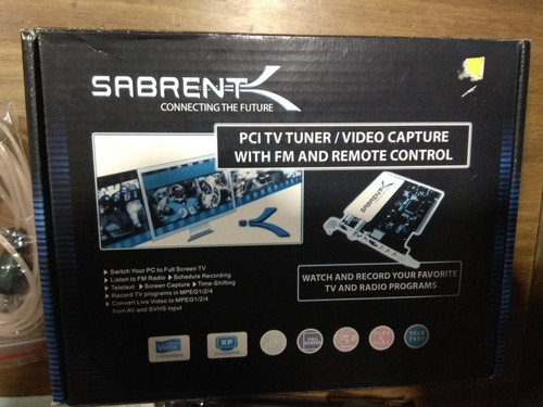 capturadora de video sabrent con control remoto