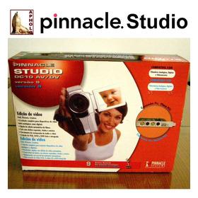 Capturadora Editora Videos Pinnacle Studio Dc10 Av/dv Pci