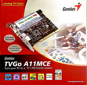 DRIVERS FOR GENIUS TVGO A03-IPTV TV CARD