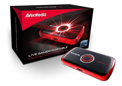 capturadora tv avermedia live gamer portablefull hd