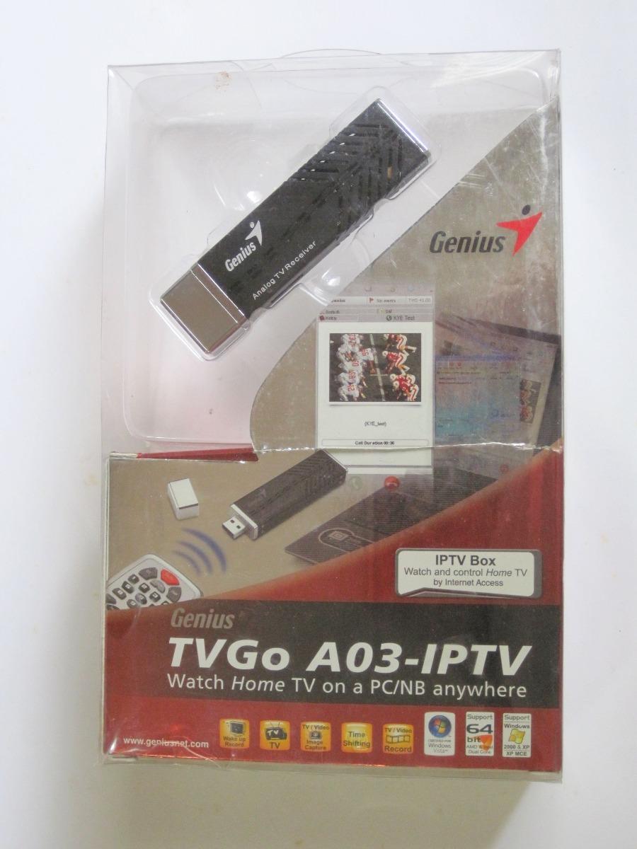 Genius TVGo A03-IPTV Drivers Download (2019)