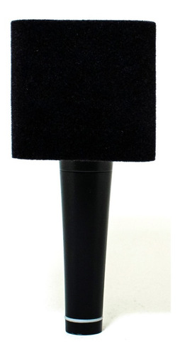 capuchón cuadrado gamuzado para micrófono nra.