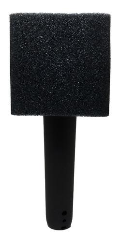capuchón cuadrado para micrófono.