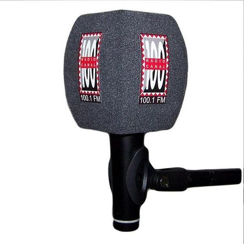 capuchon microfono c1g con logo pack por 2 unidades