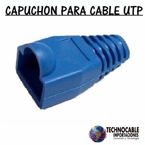 capuchon para cable utp funda de 100 unidades