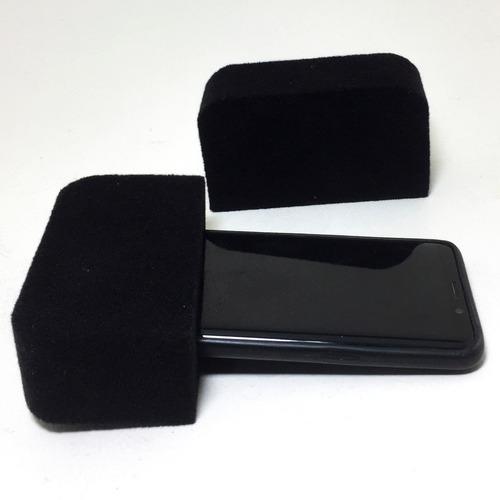 capuchón para teléfono celular gamuzado cc1-g