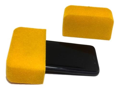 capuchón para teléfono celular gamuzado cc1-g-l