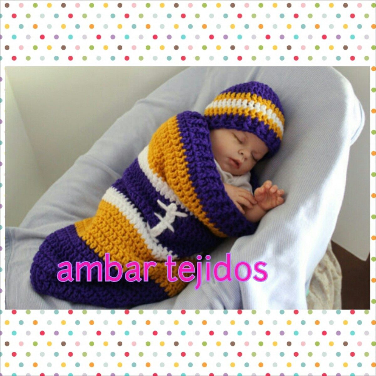 Capullos nana tejidos para bebe precio hasta 3 6 meses - Ideas para bebes ...