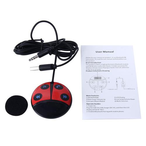 car auto beetle shape wireless bluetooth module fm