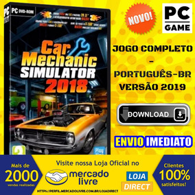 Car Mechanic Simulator 2018 + Dlcs - Pc - Envio Digital