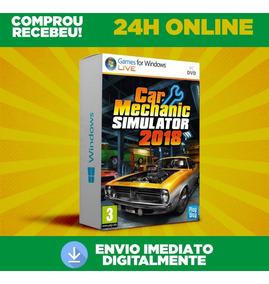 Car Mechanic Simulator 2018 Pc + Todas Dlc Português 24h On